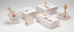 hộp giấy đựng cơm dùng 1 lần