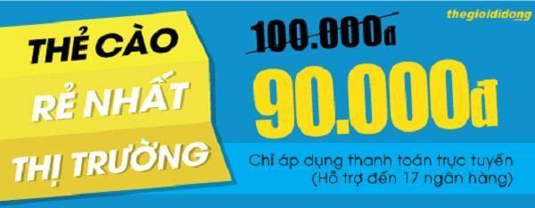 in thẻ cào khuyến mãi tại Quảng Nam