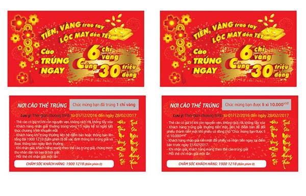 sản xuất thẻ cào trúng thưởng tại Kon Tum
