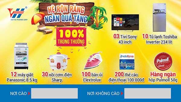 in thẻ cào trúng thưởng tại Nha Trang