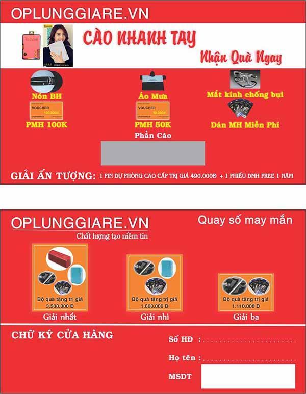 Báo giá in ấn thẻ cào tại Đắk Lắk