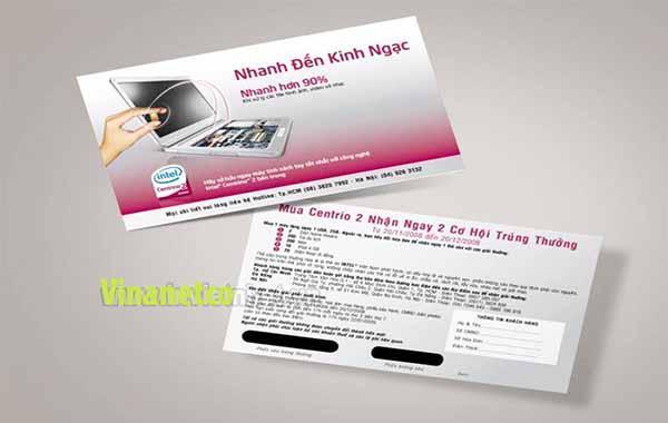 in ấn thẻ cào trúng thưởng tại Lâm Đồng