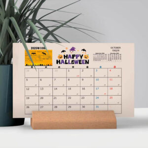 Thiết kế lịch để bàn sử dụng màu nước