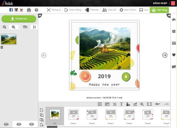 Các phần mềm thiết kế lịch để bàn phổ biến
