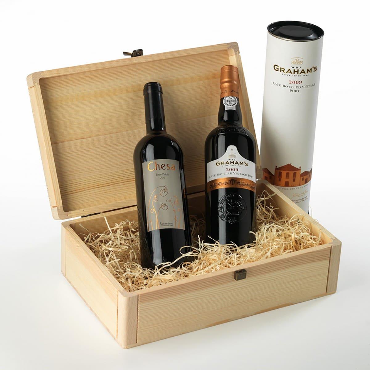 Tại sao cần phải in hộp cứng cao cấp đựng rượu vang ?