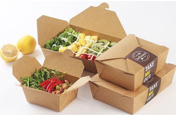 In hộp giấy đựng thức ăn tại inlichban.com